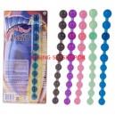 Jumbo Jelly  Thai Beads blå